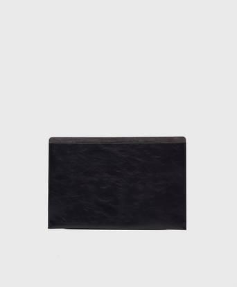 """P.A.P Plånbok Mark Laptop Case 15"""" Leather/Suede Svart"""