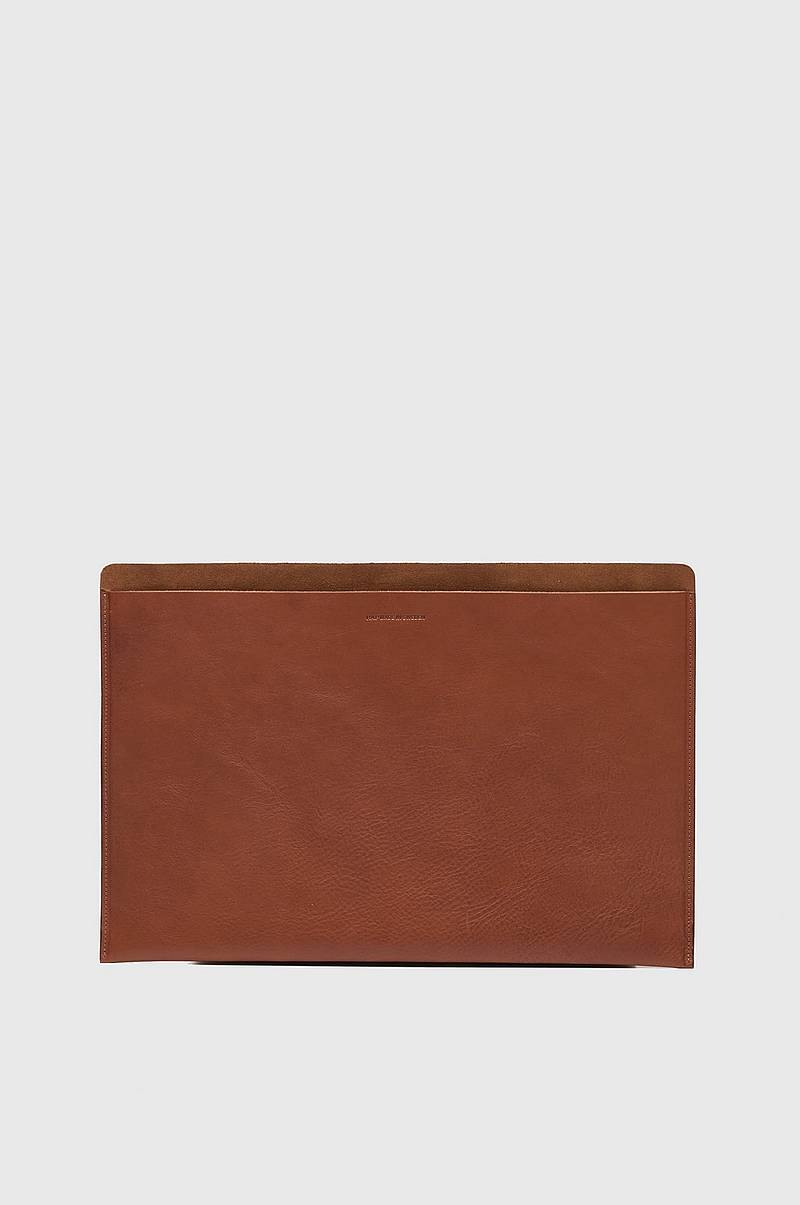 "Lommebok Mark Laptop Case 15"" Leather/Suede"