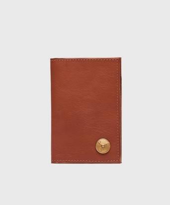 P.A.P Plånbok Clas Small Wallet Leather Brun