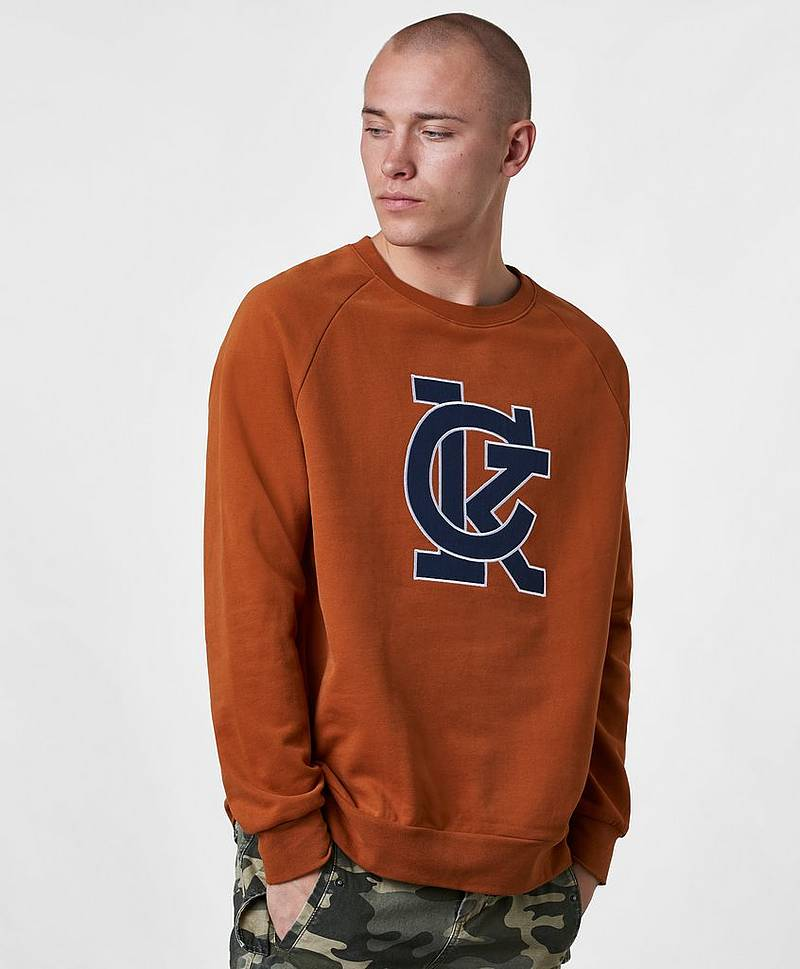 Sweatshirt Karem Sweat Caramel Cafe