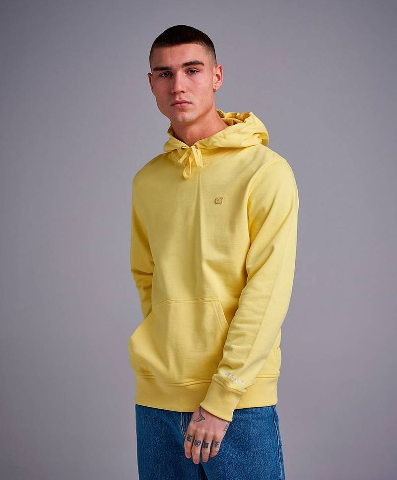 CKJ Chest Embroidery Hoodie