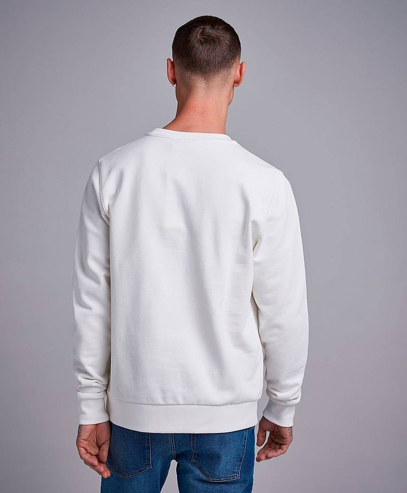 Cotton Logo Text Sweatshirt