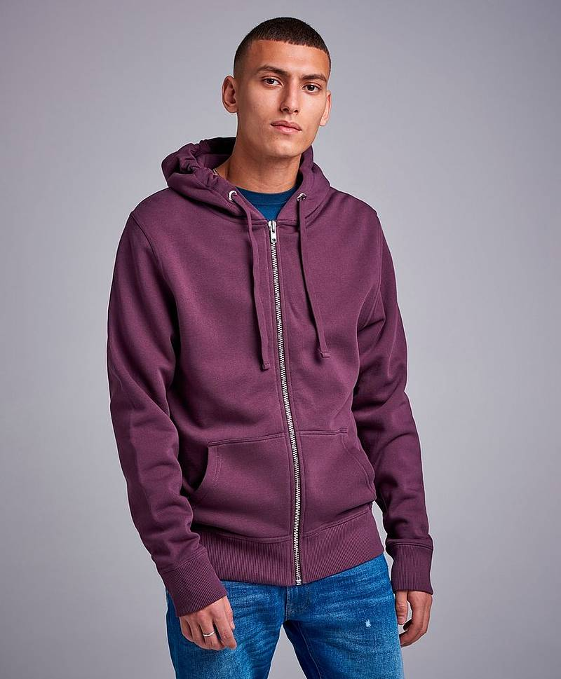 Zip Hood Sweater