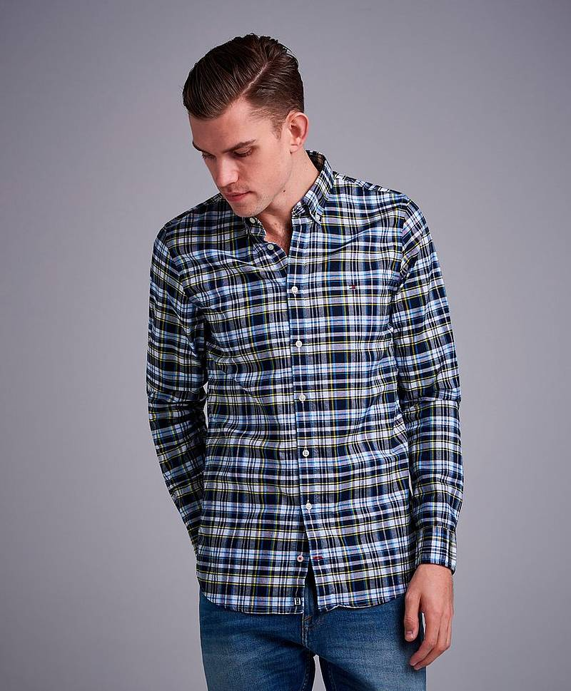 Slim Multi Check Shirt