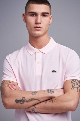 Lacoste Pikétröja Slim Fit Polo Piké Rosa