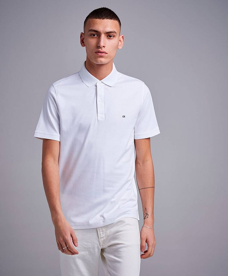 Soft Interlock Chest Logo Polo