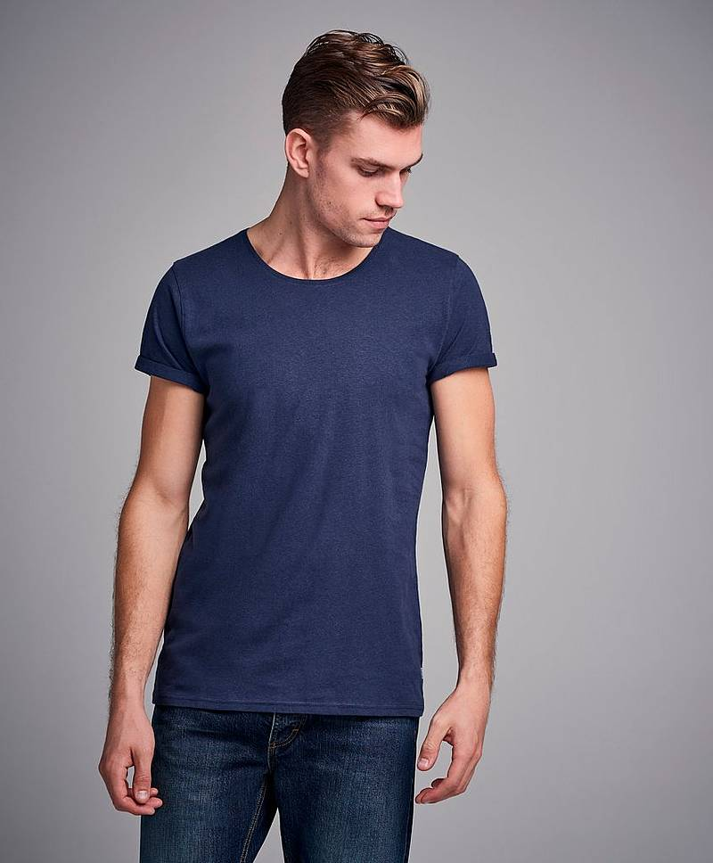 Jimmy Cotton Linen Tee
