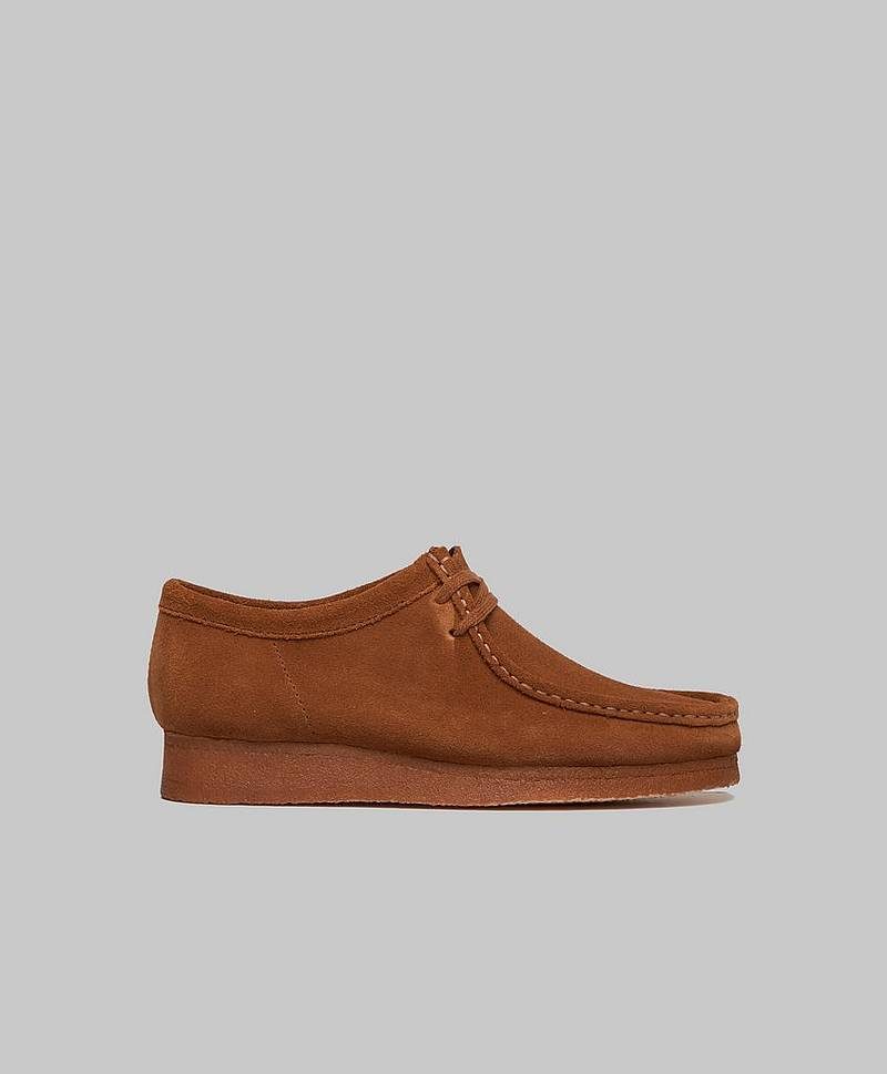 Wallbee Cola Suede