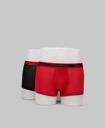 Bilde av Armani Underbukser 2-pack Trunk Core Logoband Rød