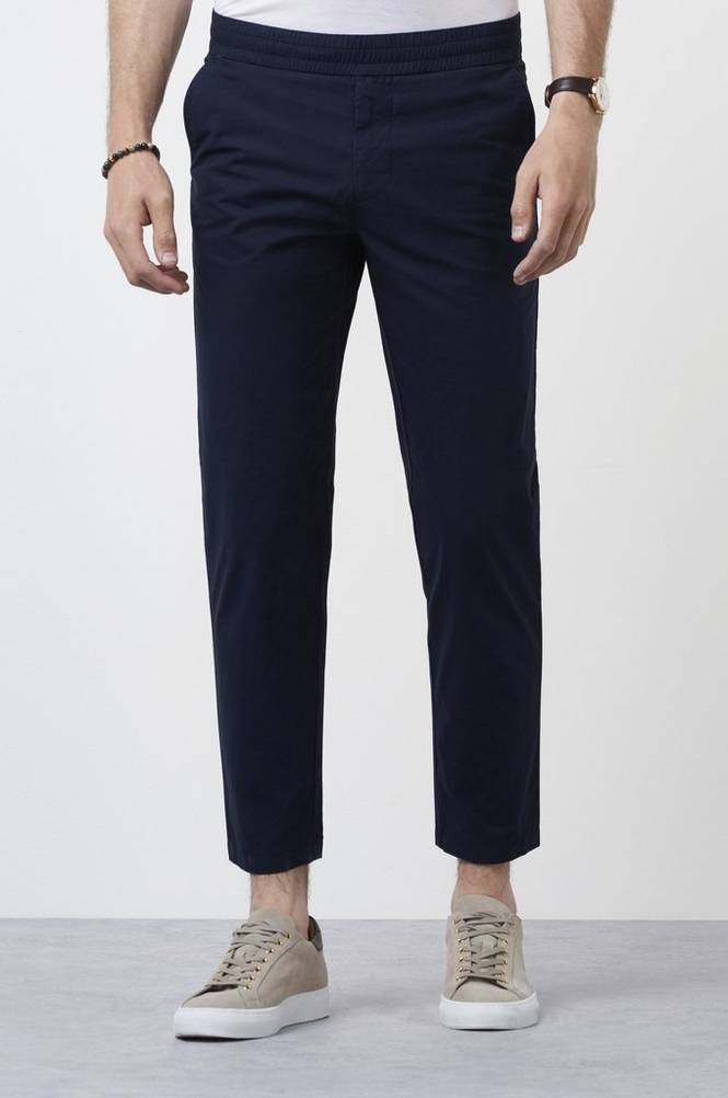 Housut Terry Cropped Pants