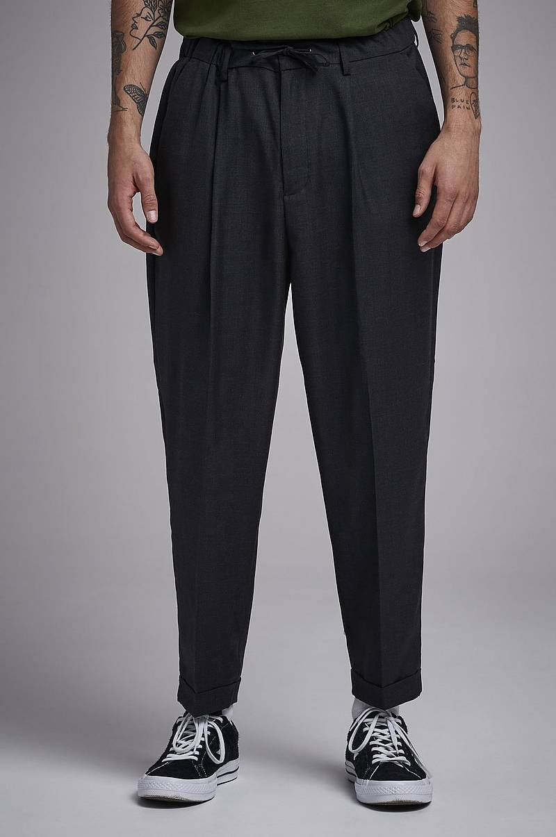 Bukser Drop Crotch Drawstring Trousers