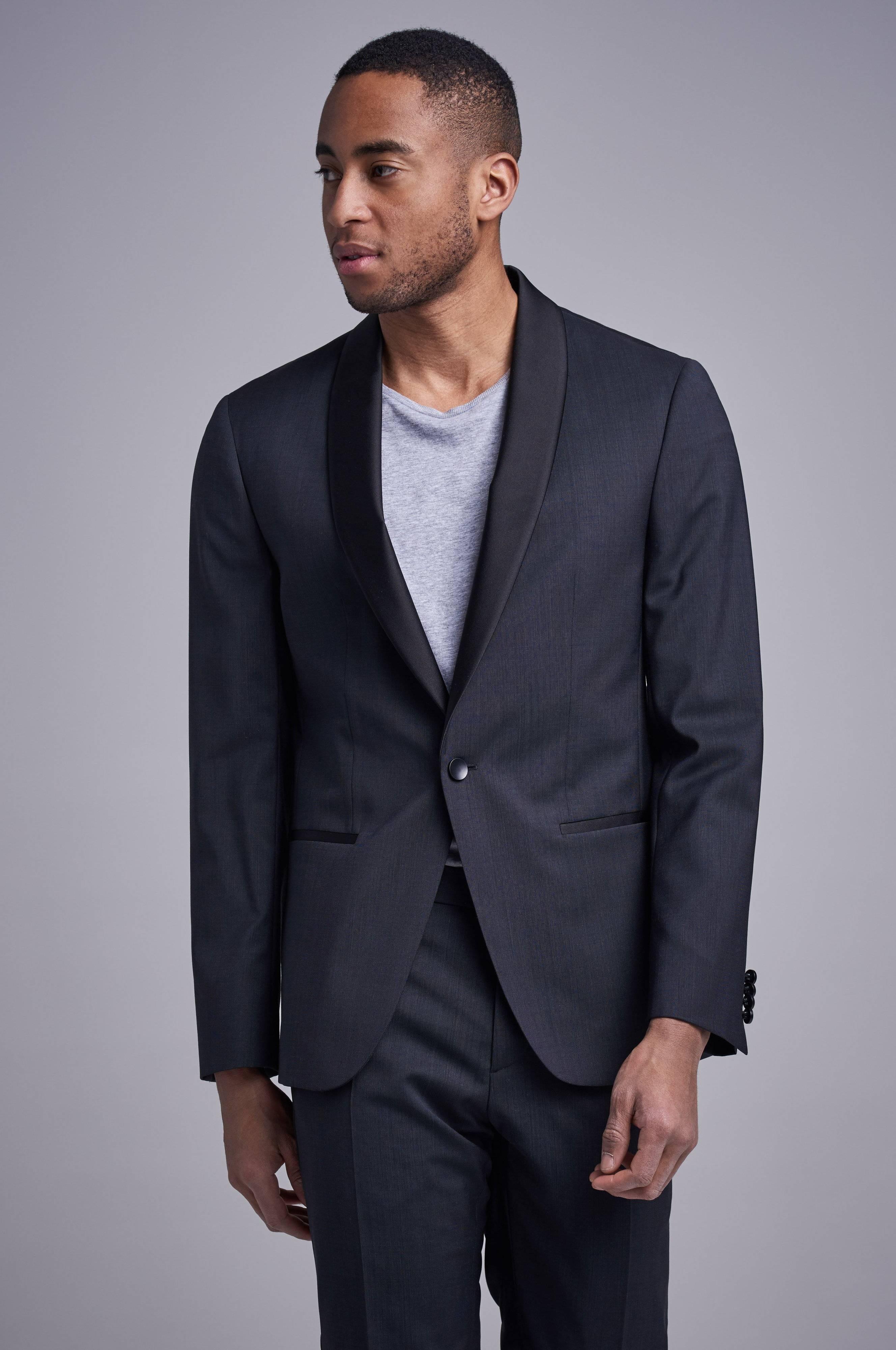 Calvin Klein Tuxedo Blazer Svart