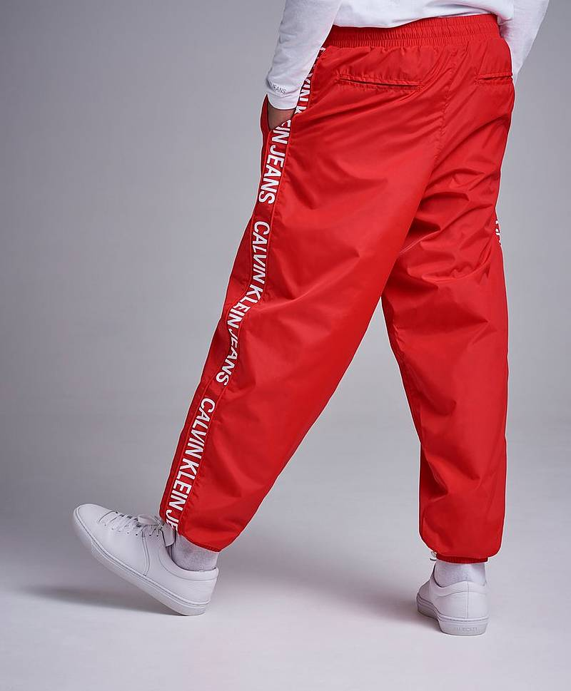 Nylon Jogger Pants Racing