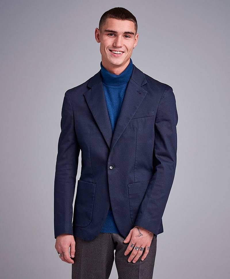 Dean Cotton Suit Jacket