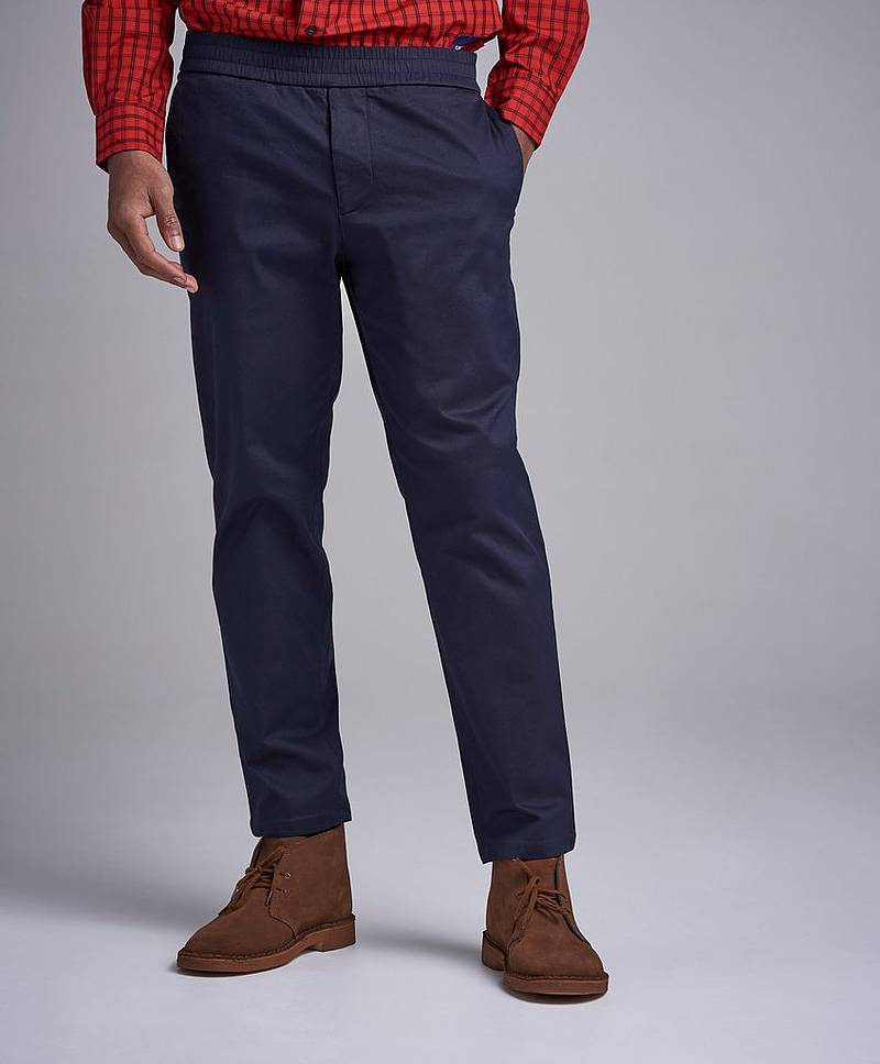 Terry Cotton Twill Chino