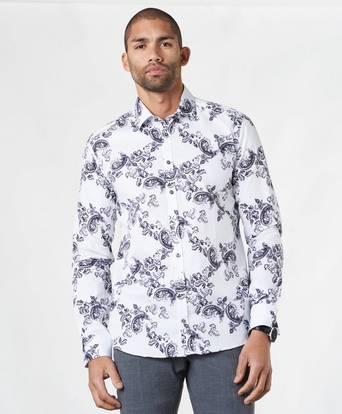 SAND Skjorta Iver Vit