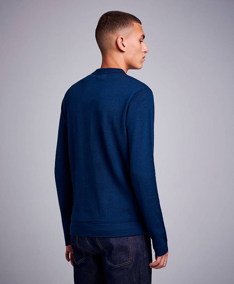 Strikket genser Finch Knitted Shirt