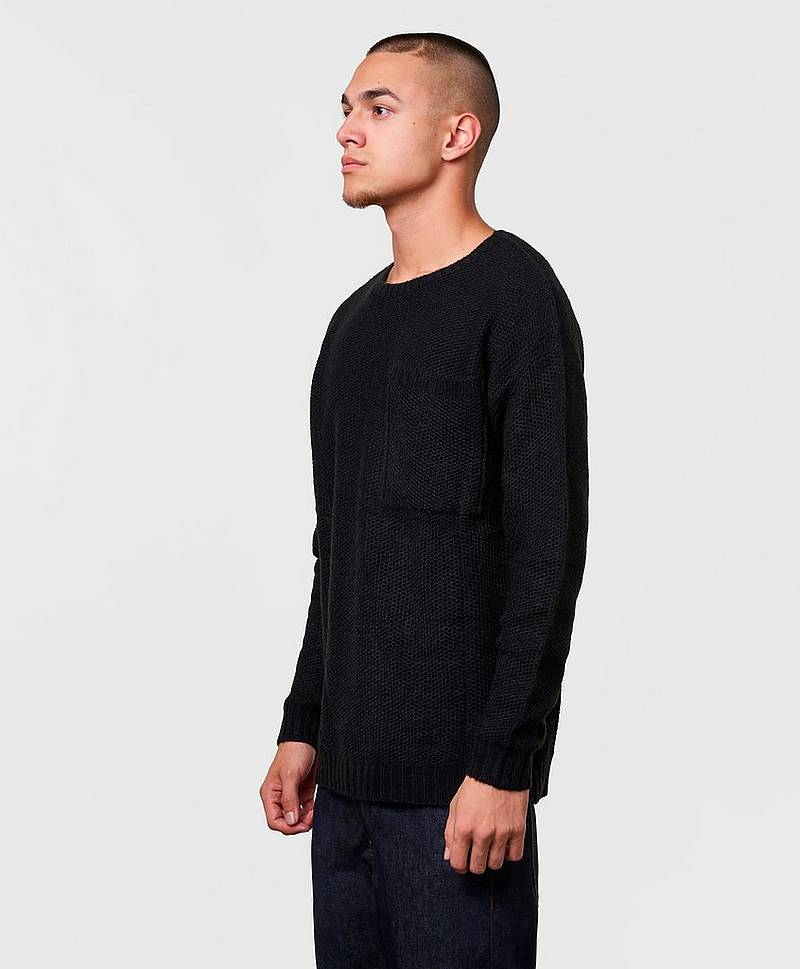 Stickad tröja Bill Big Pocket Jumper