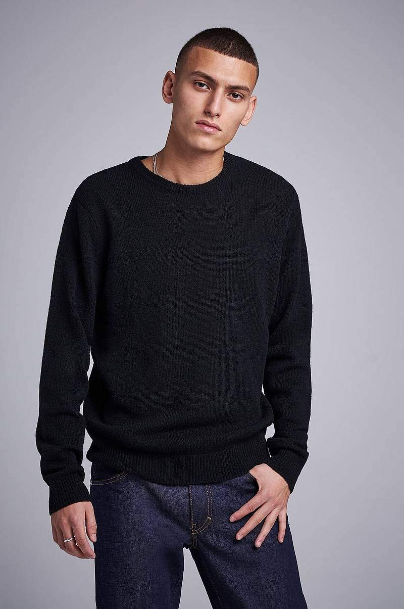 Stickad tröja Garret Knitted Wool Crewneck