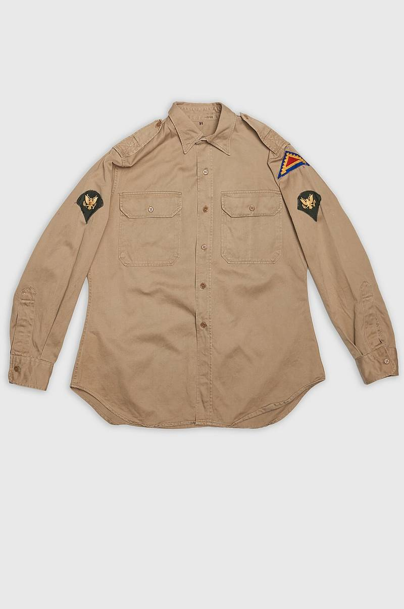 US Officer Shirt Patch