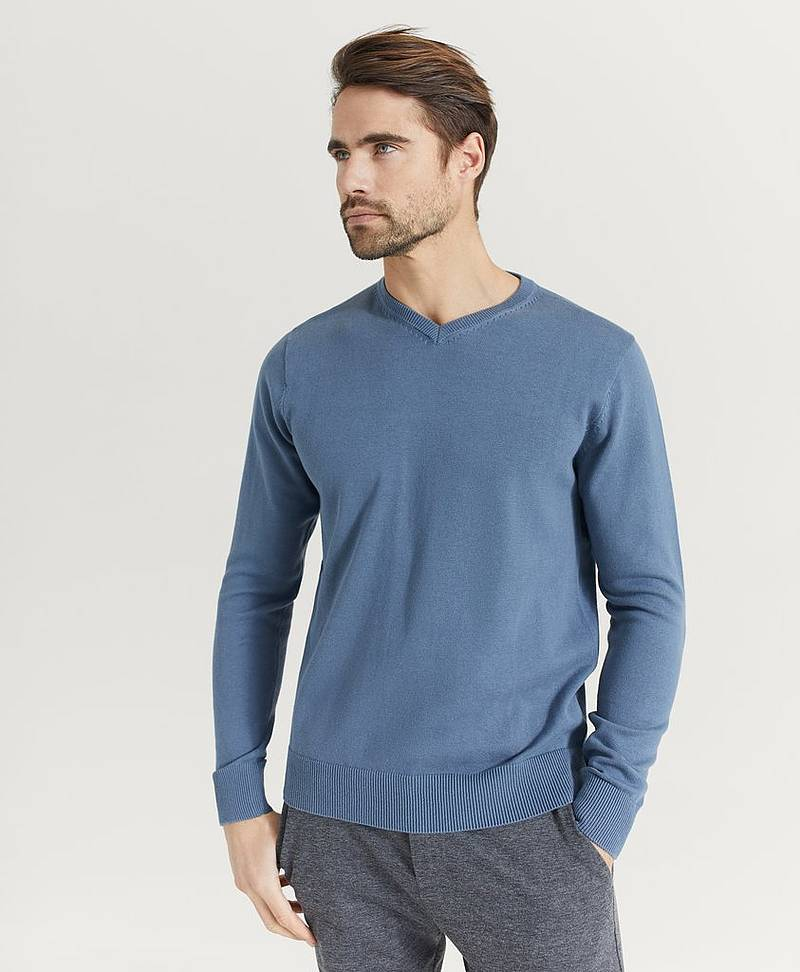 Striktrøje Garett v-neck