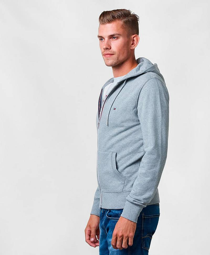 Core Cotton Zip Hood