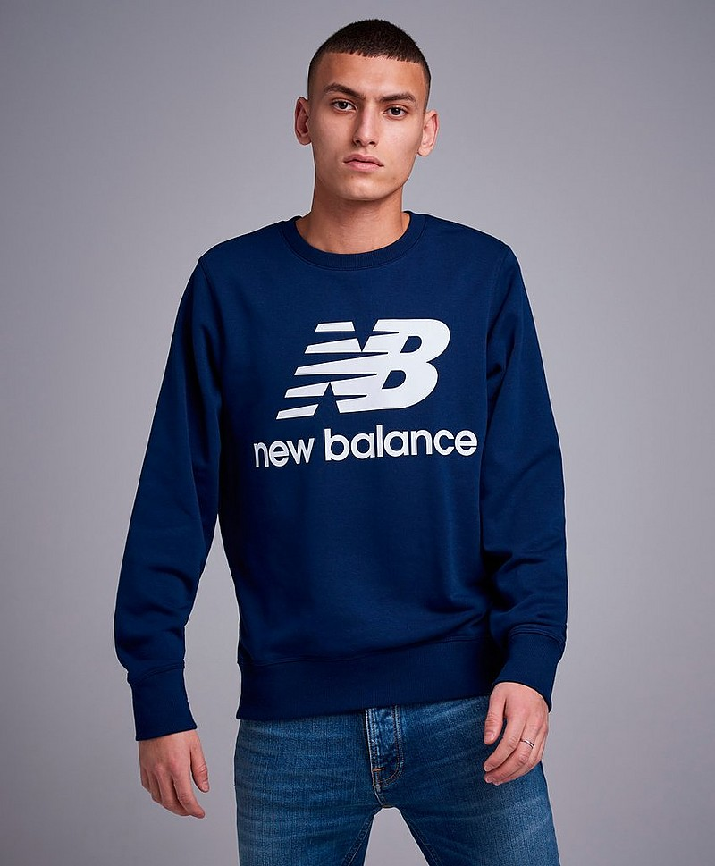Sweatshirt Essentials Stacked Logo Crew PGM