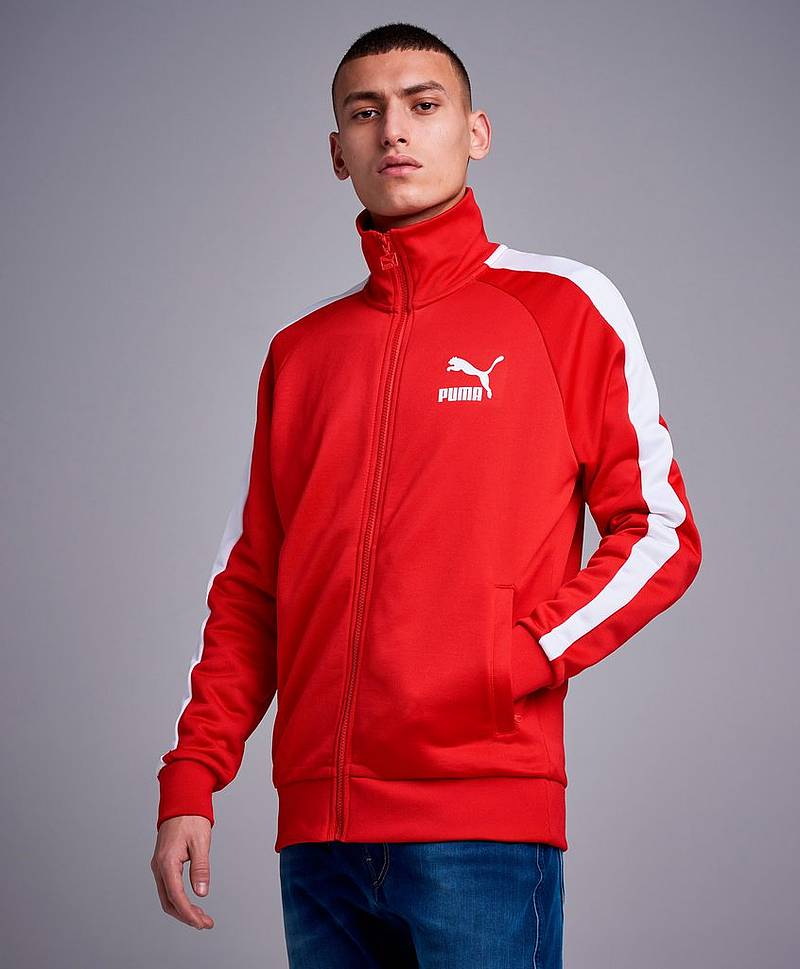 Hoodie Iconic T7 Track Jacket PT