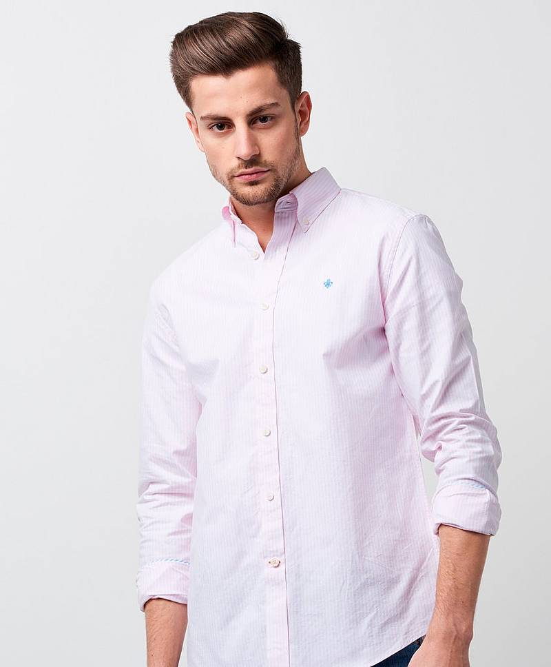 Oxford Striped Button Down