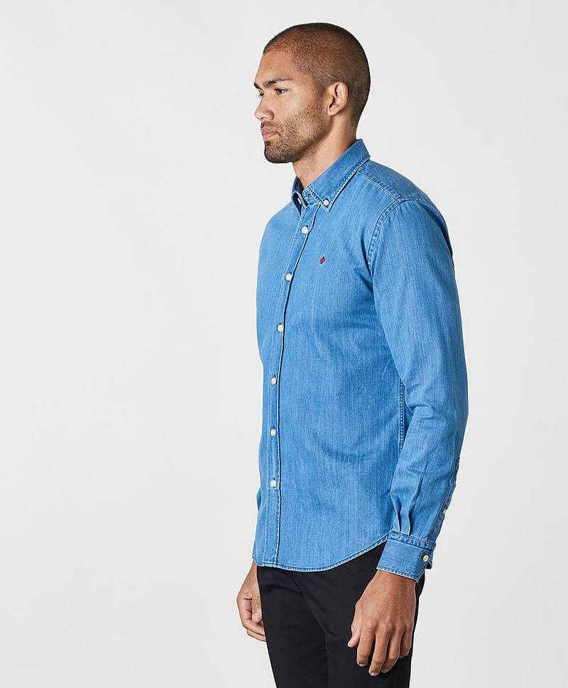 Jeansskjorta Cary Grant Denim Shirt