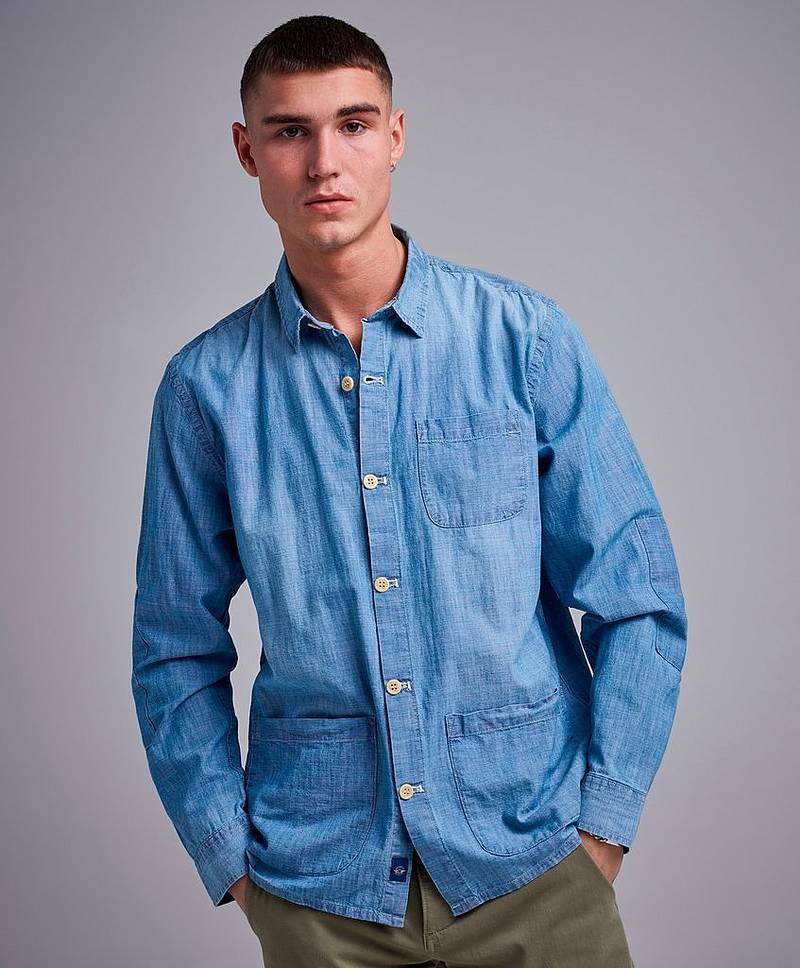 Alpha Chambray Overshirt