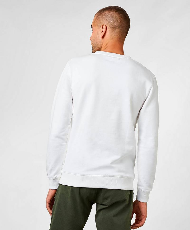 Square Pocket Sweatshirt