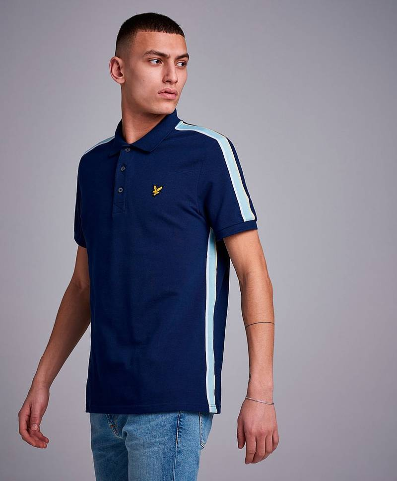 Side Stripe Polo Shirt