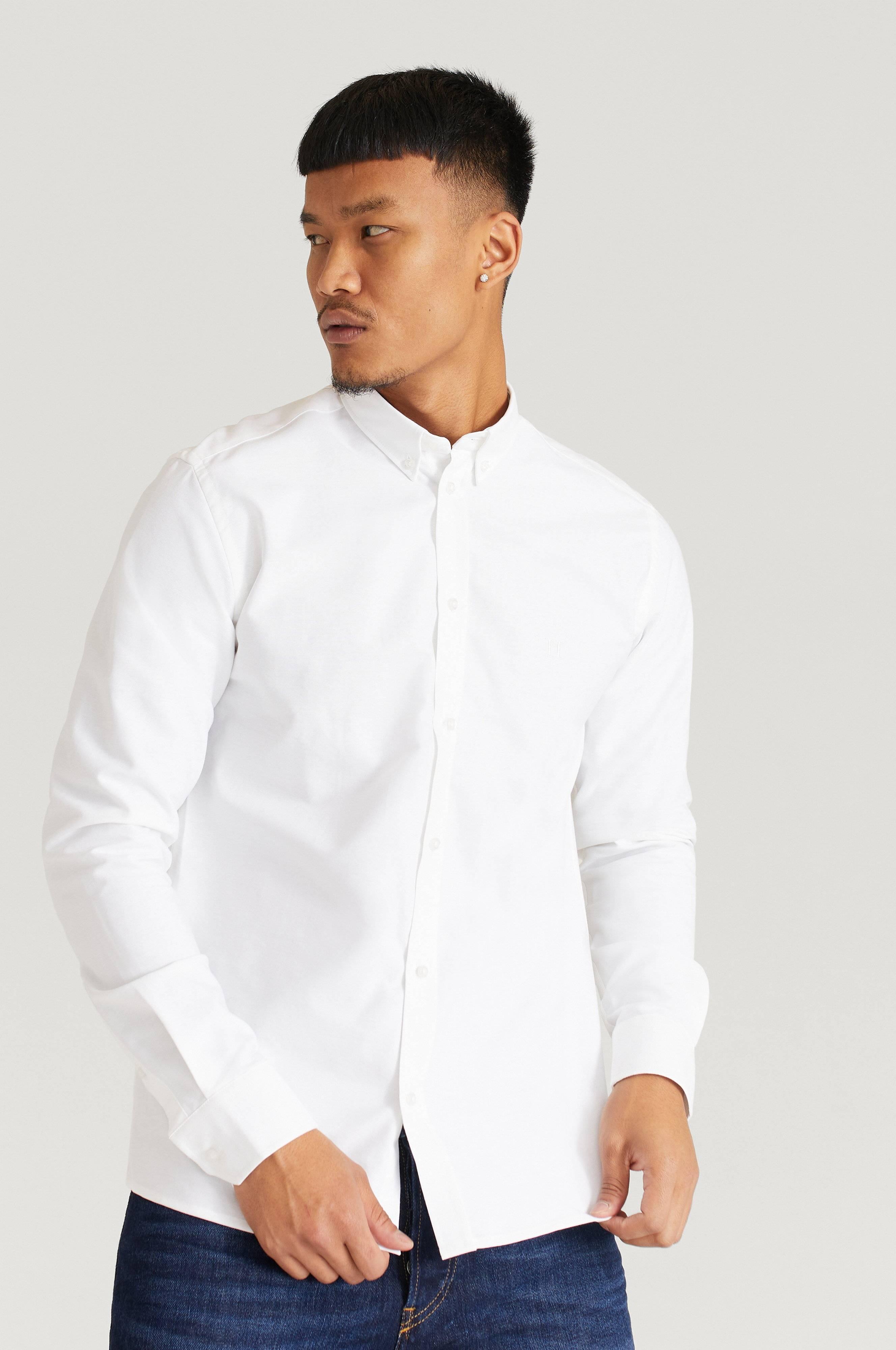 Les Deux Christoph Oxford Shirt Vit