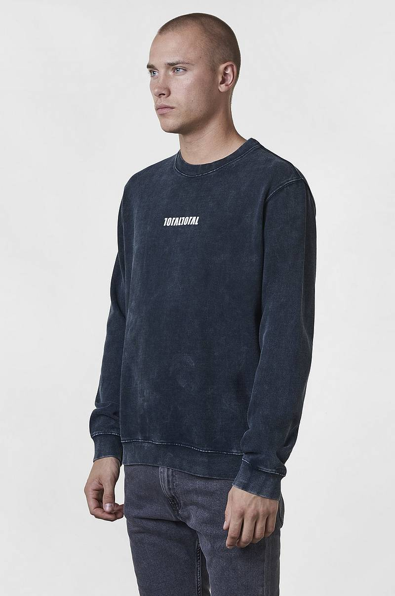 Sweatshirt Oliver washed crew