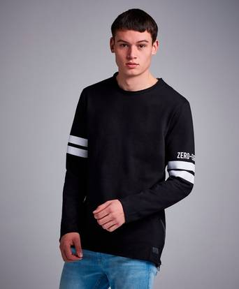 Bilde av Adrian Hammond Sweatshirt Hoover Sweater Svart