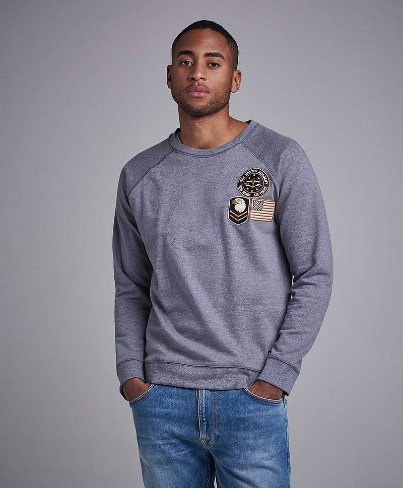 Hudson Badge sweater