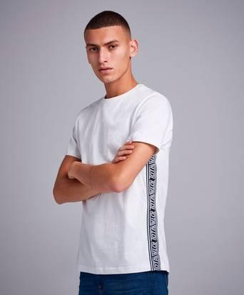 Studio Total T-Shirt Robert Tape Tee Vit