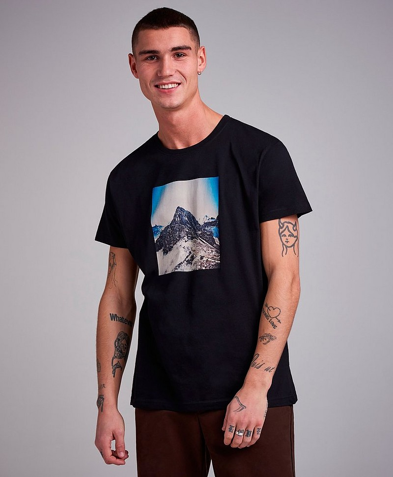T-Shirt Mountain Photo Tee