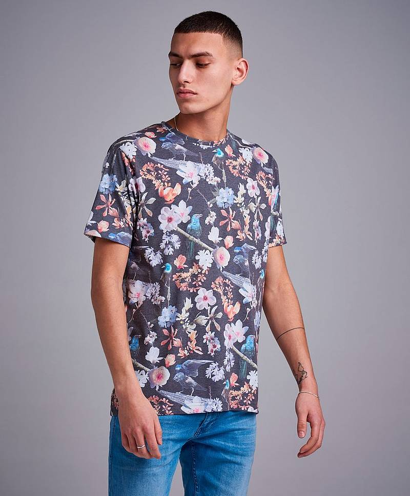 T-Shirt Photo Flower Tee