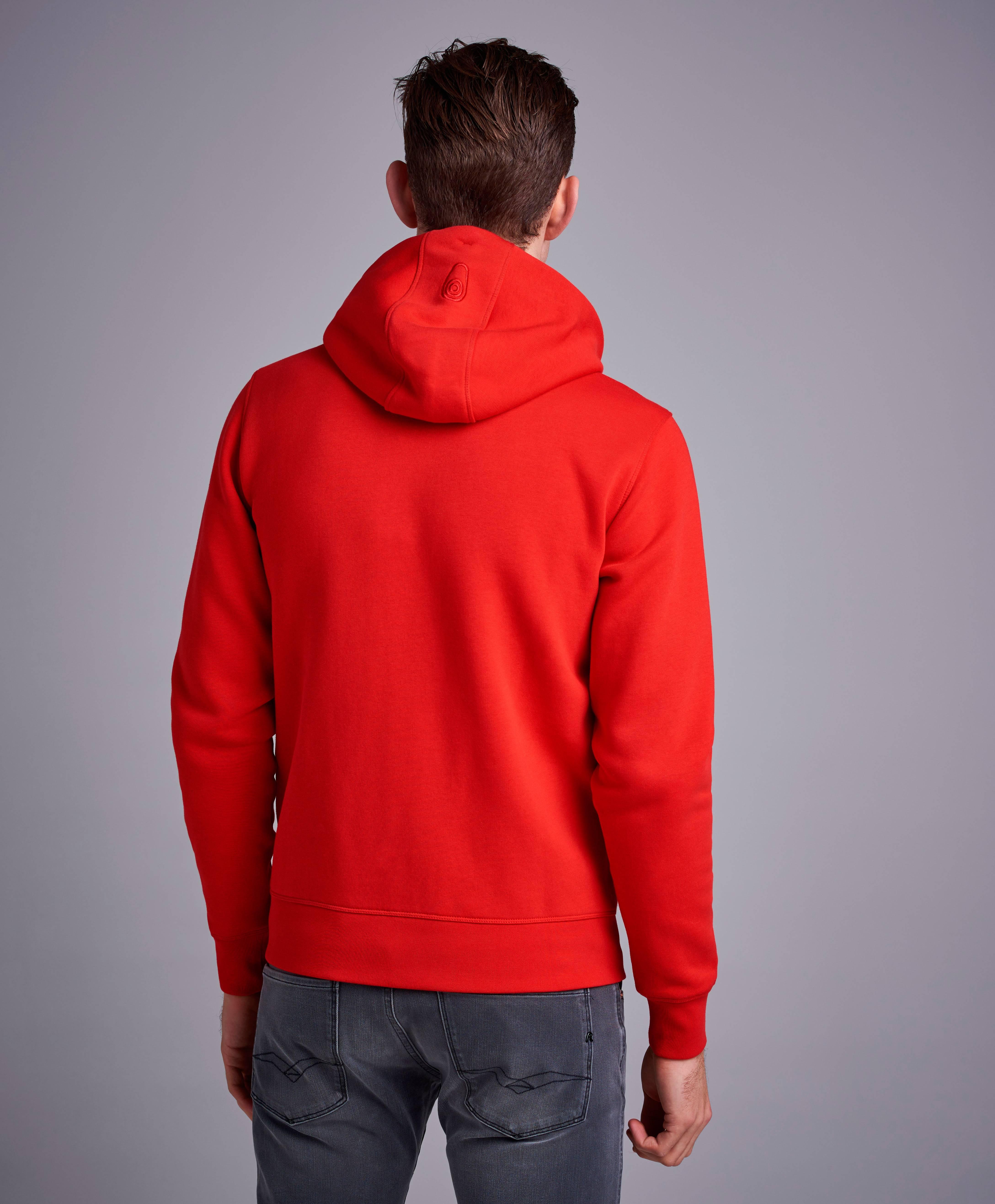 Bowman Zip Hood (Röd)