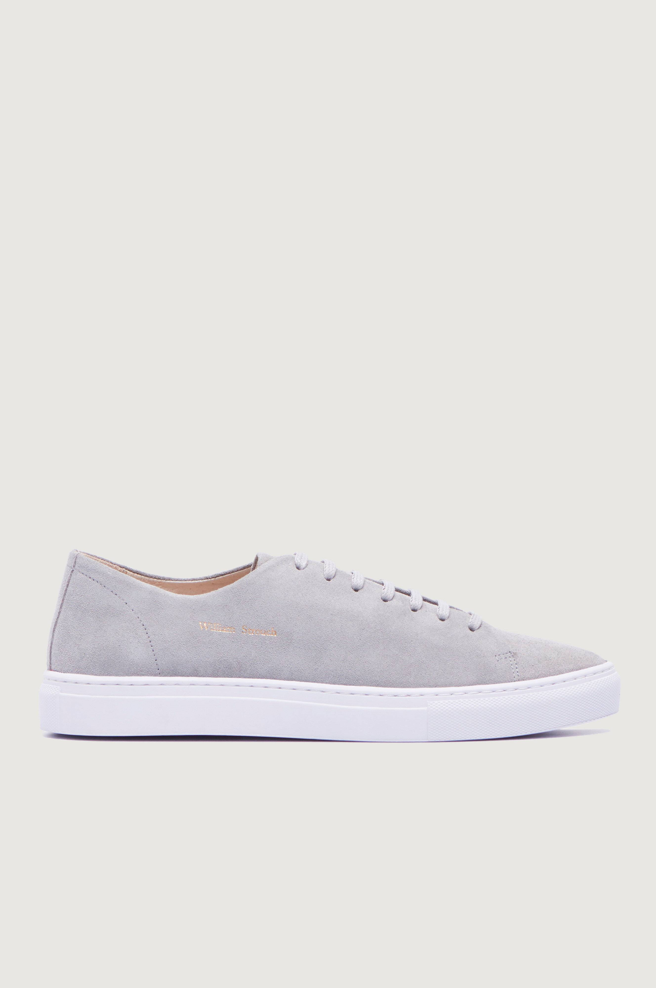 William Strouch SH Classic Suede Sneakers Grå