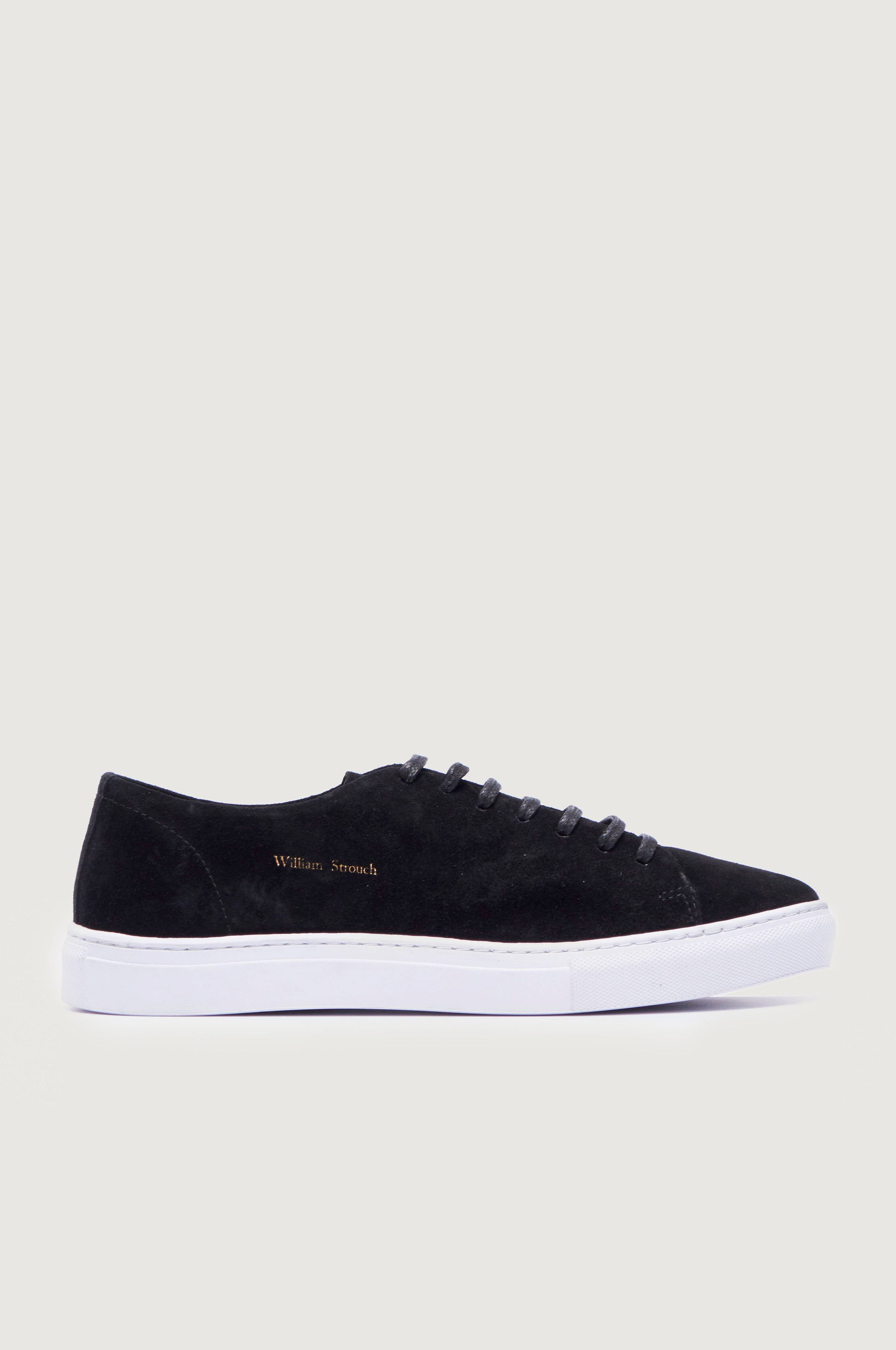 William Strouch SH Classic Suede Sneakers Svart