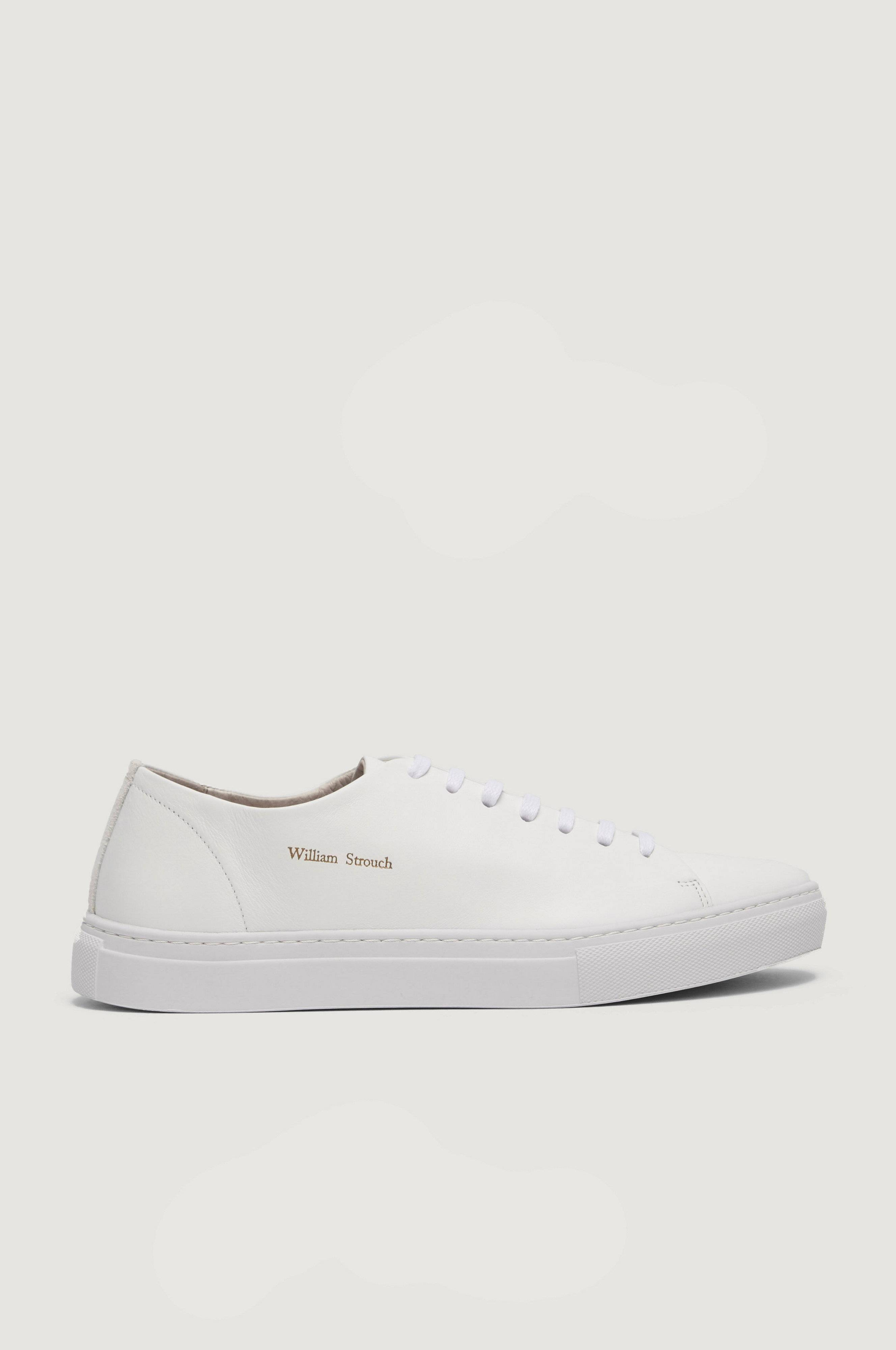 William Strouch SH Classic Suede Sneakers Vit