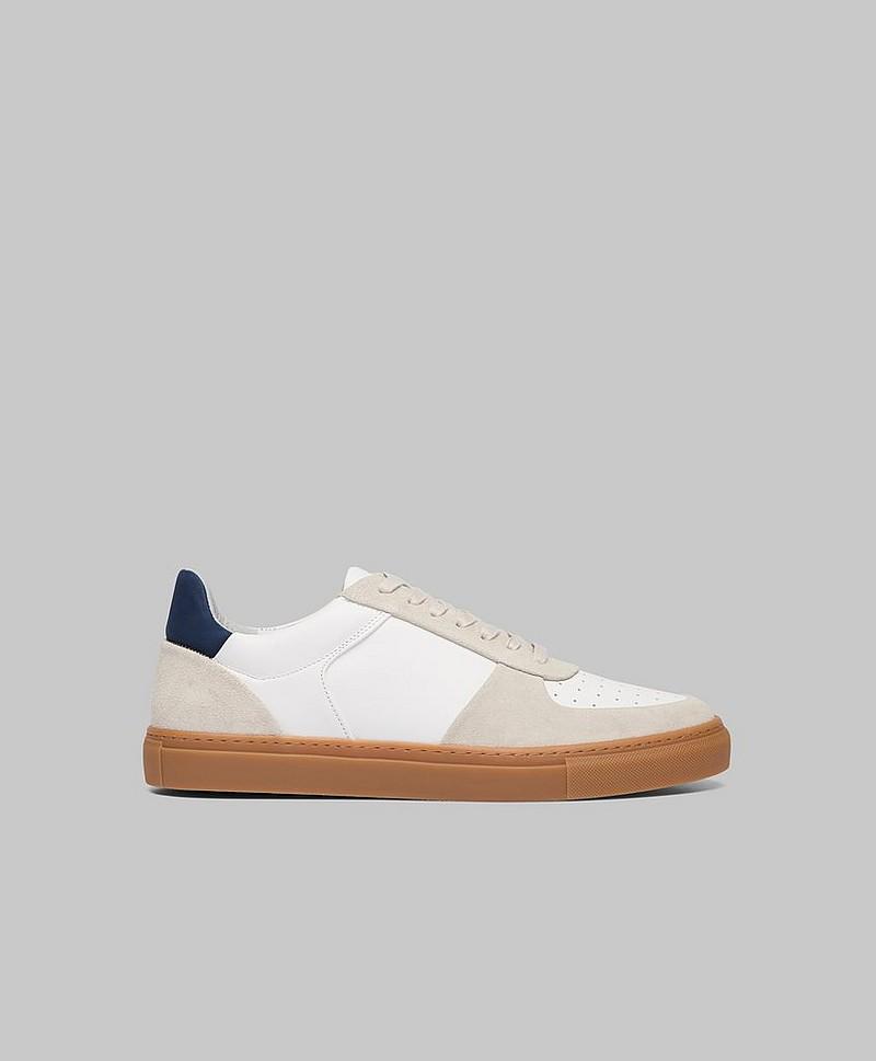 Filippa K Sneakers Robert Low Mix Sneaker Grå Sko