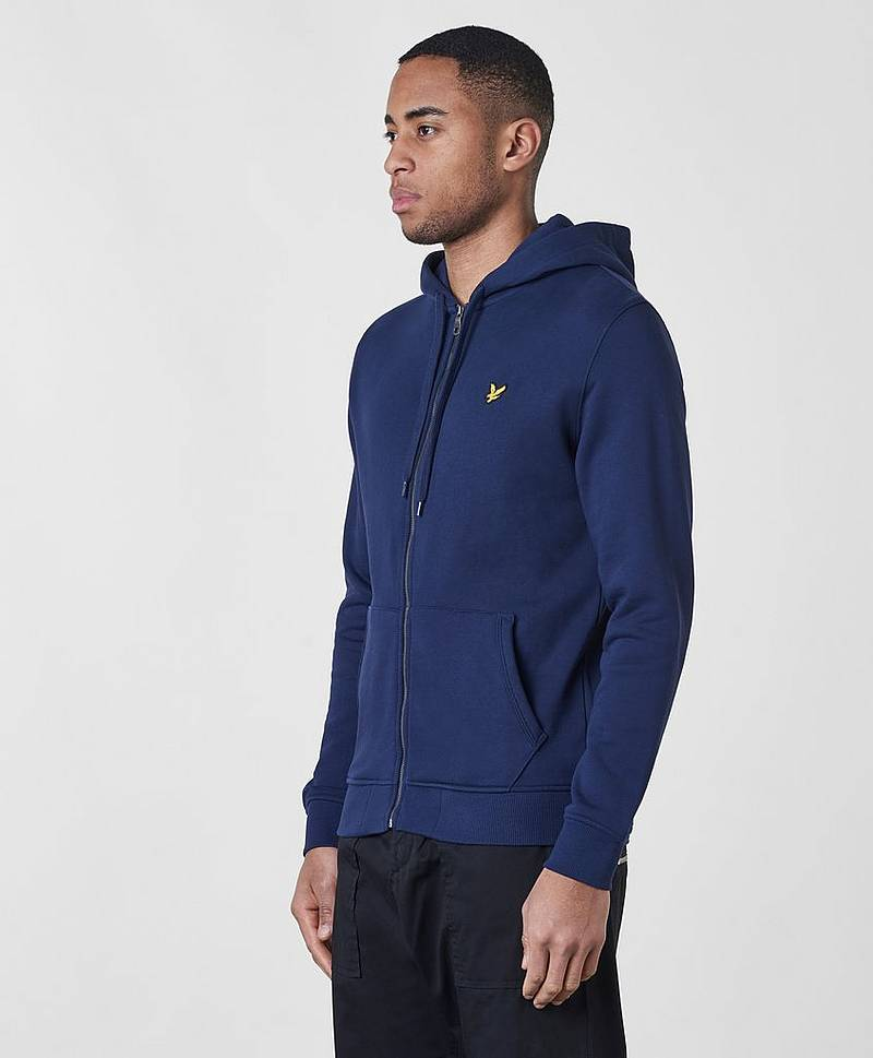 Zip Throw Hoodie