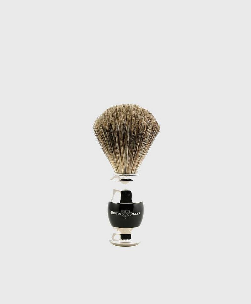 Shaving Brush Pure Badger Chrom