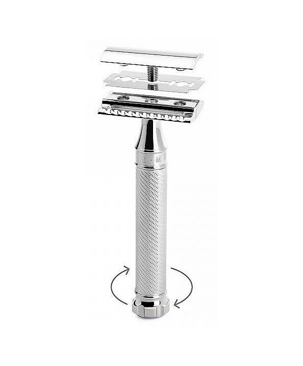 Safety Twist Razor Closed Comb
