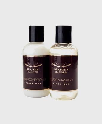 Bilde av Benjamin Barber Kit Benjamin Barber Beard Conditioner & Beard Shampoo Grå