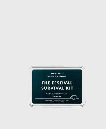 Mens Society The Festival Survival Kit Grå